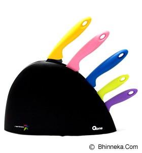 OXONE Rainbow Knife Set [OX-606] - Pisau Dapur Set